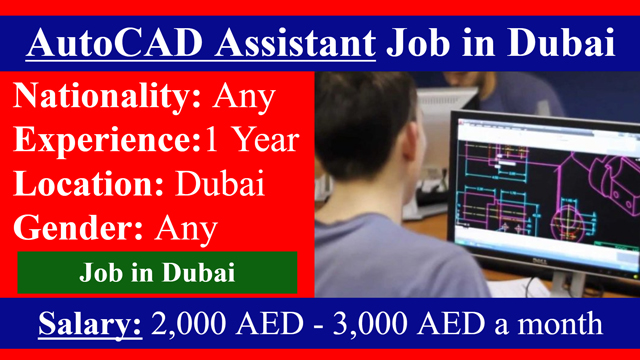 AutoCAD Assistant Job in Dubai | Highlyjobs