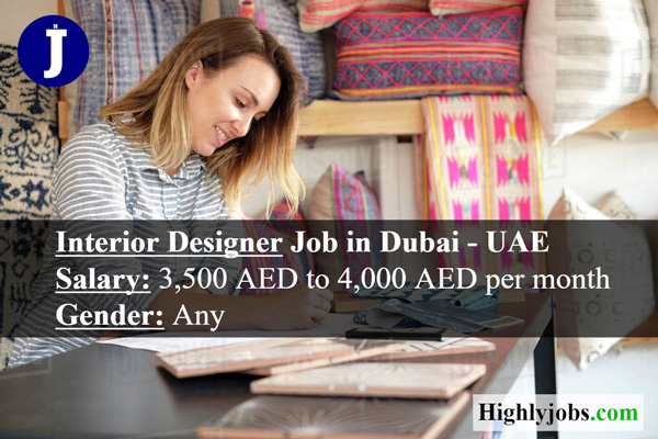 Interior Designer Job In Dubai Highlyjobs